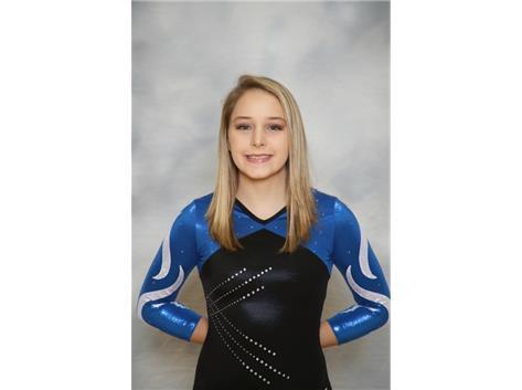 2017 Girls Gymnastics State Qualifier Daniella Pellegrino