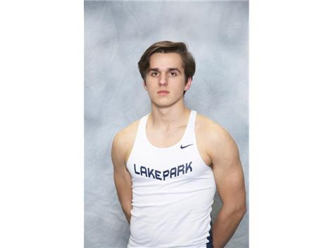 2017 Boys Track State Qualifier Ethan Koval