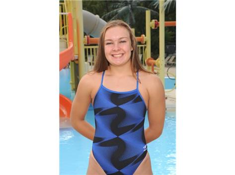 2017 Girls Swim - Grace Becker, IHSA State Qualifier
