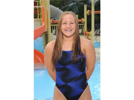 2017 Girls Swim - Kassandra Buff, IHSA State Qualifier