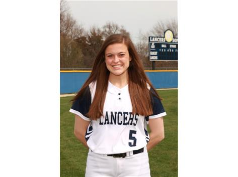 2017-2018 Girls Softball - Emily Frank:  All Conference