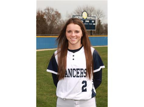 2017-2018 Girls Softball - Jessica Gaseor:  All Conference
