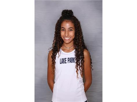2018-2019 Girls Cross Country: Mariam Slimane, All Conference