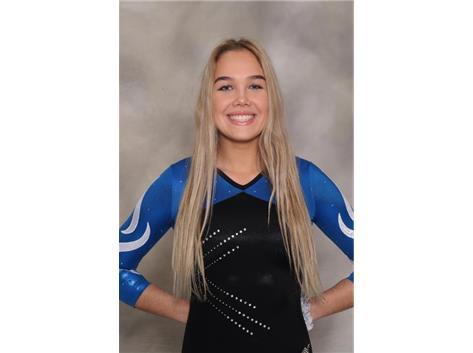 2018-2019 Girls Gymnastics: Julia Naronowicz, State Qualifier