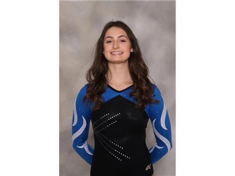 2018-2019 Girls Gymnastics: Julia Kurek, State Qualifier
