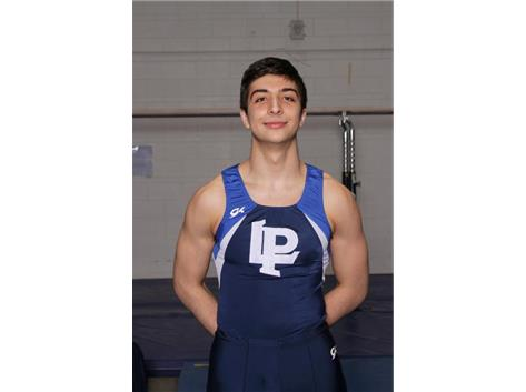 2018-2019 Boys Gymnastics: Louis Ranieri, Sectional Champion Vault, State Qualifier