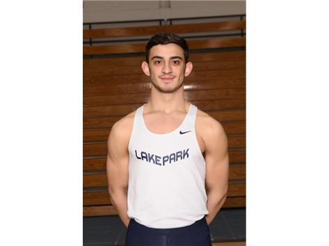 2018-2019 Boys Track: Michael Shuff, State Qualifier pole vault