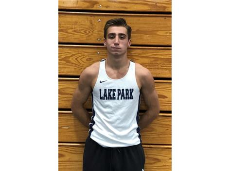 2018-2019 Boys Track: Zach Frye, State Champion and Sectional Champion pole vault