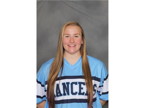 2018-2019 Girls Softball: Natalie Grubczak, Conference Pitcher of the Year and All Conference