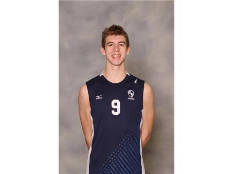 2018-2019 Boys Volleyball: Max Ellenbecker, All Conference