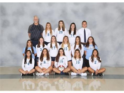 2019-2020 Girls Volleyball Varsity