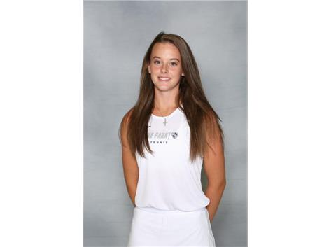 2019-2020 Girls Tennis - Sara Jankovic: State Qualifier, Conference 2nd Singles Champion, All Conference