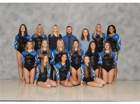 2019-2020 Girls Gymnastics Varsity - Regional and Conference Champion