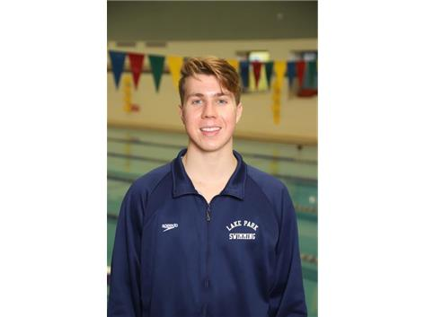 2019-2020 Boys Swim - Norbert Szczotka: State Qualifier, All Conference