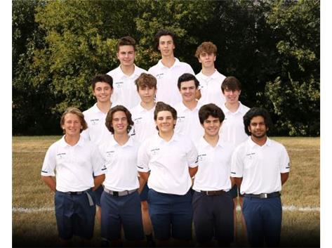 2020-2021 Boys Golf Varsity
