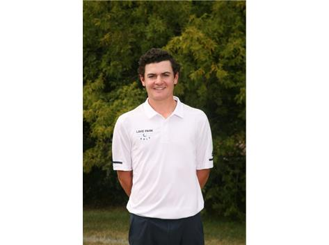 2020-2021 Boys Golf Varsity - Matthew Lesniak, Sectional Qualifier, All Conference