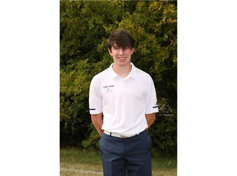 2020-2021 Boys Golf Varsity - Joshua Lahner, All Conference