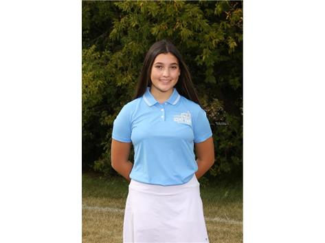 2020-2021 Girls Golf Varsity - Marisa Lerario, Sectional Qualifier, All Conference
