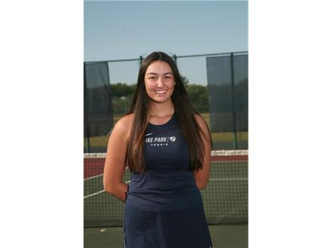 2020-2021 Girls Tennis Varsity - Camille Casey, Honorable Mention