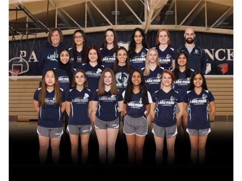 2020-2021 Girls Badminton Varsity