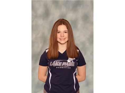 2020-2021: Girls Badminton - Aimee Durkin: State Qualifier, All Conference