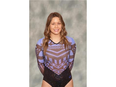 2020-2021 Girls Gymnastics - Racquel Suhr, Conference Champion Floor, All Conference