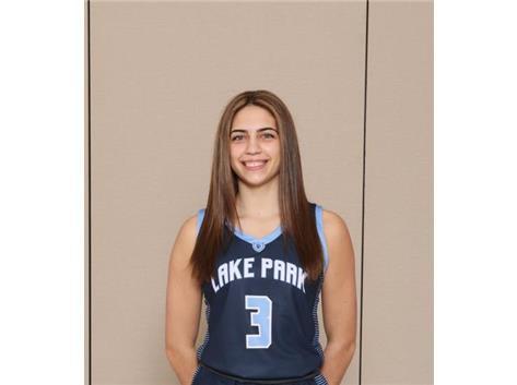 2020-2021 Girls Basketball - Sara Balli - All Conference