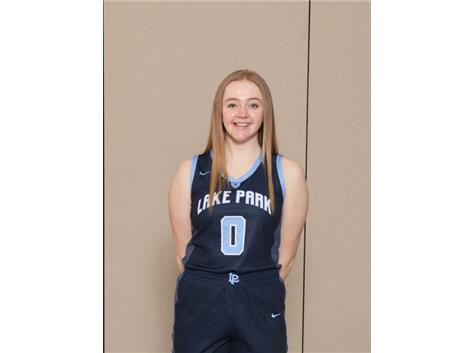 2020-2021 Girls Basketball - Eleanor Helm, Honorable Mention