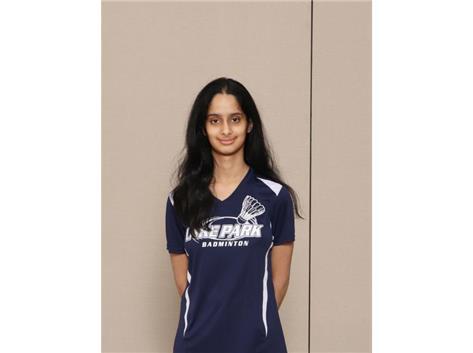 2020-2021: Girls Badminton - Shriya Venkit: All Conference