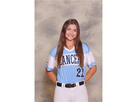 2020-2021 Girls Softball Varsity - Cailynn Gdowski, Honorable Mention
