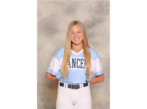 2020-2021 Girls Softball Varsity - Carly Frank, Honorable Mention