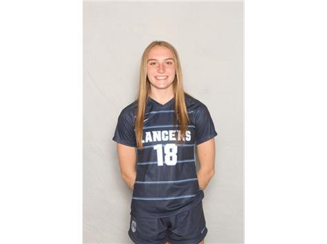 2020-2021 Girls Soccer Varsity - Emma Thorne, All Conference and All Sectional