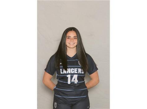 2020-2021 Girls Soccer Varsity - Lauren Malone, All Sectional Honorable Mention