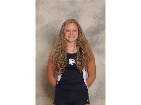 2020-2021 Girls Track Varsity - Martina Latoria, State Qualifier