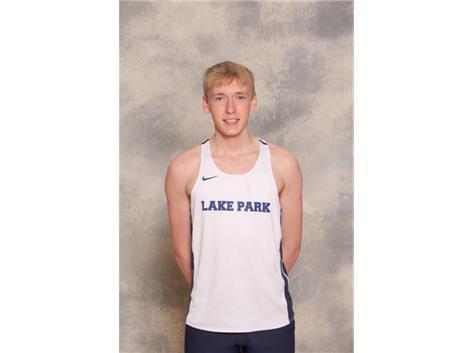 2020-2021 Boys Track Varsity - Aidan Killmer, State Qualifier - 300m Hurdles, All Conference