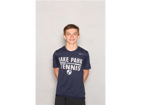 2020-2021 Boys Tennis Varsity - Jakub Wierzba, Honorable Mention