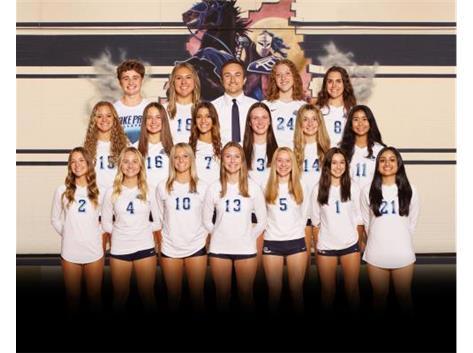 2021-2022 Girls Volleyball - Varsity