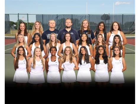 2021-2022 Girls Tennis Varsity