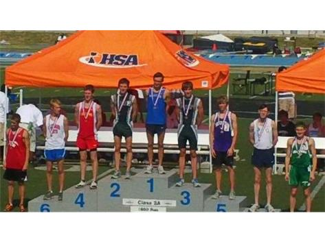 1st place at state