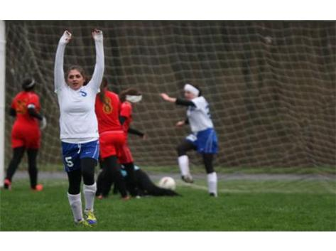 Grace Ganley celebrating a goal!!