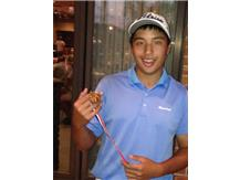 Orion Yamat shot a 68 to take 1st place!