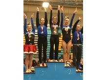 Afroditi Baltsas - 1st Place, Varsity Balance Beam at Maine West Invite