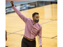 Coach Philip cheering on his team!-2021