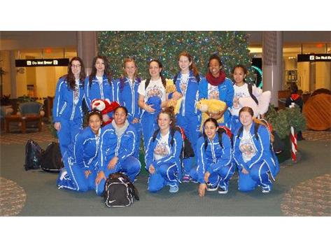 Varsity Basketball at Orlando Airport