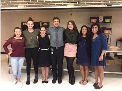 Varsity Team at Banquet