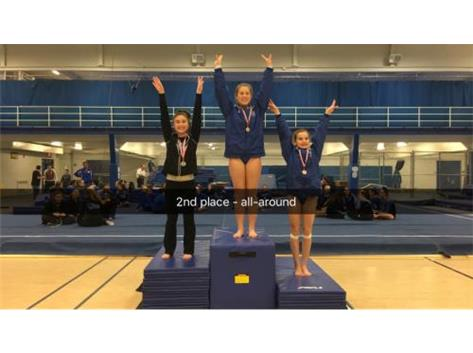Afroditi Baltsas - 2nd Place, All-Around at Wheeling Invitational