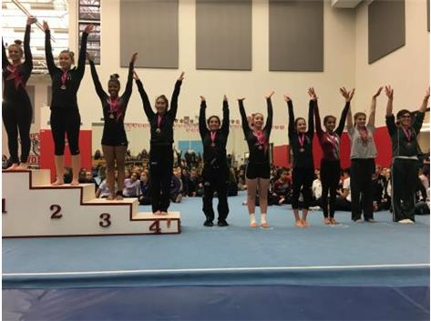 Giselle Mendoza - 4th Place, Vault at 'A Star Is Born' Invitational