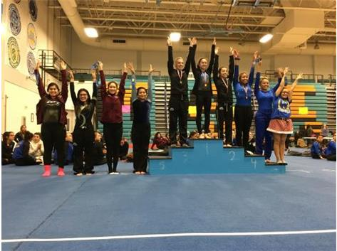 Kayla Villahermosa - 8th Place, JV Vault at Maine West Invite