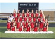 Girls Hawkettes Varsity 2016