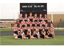 2017 Cheerleading Team